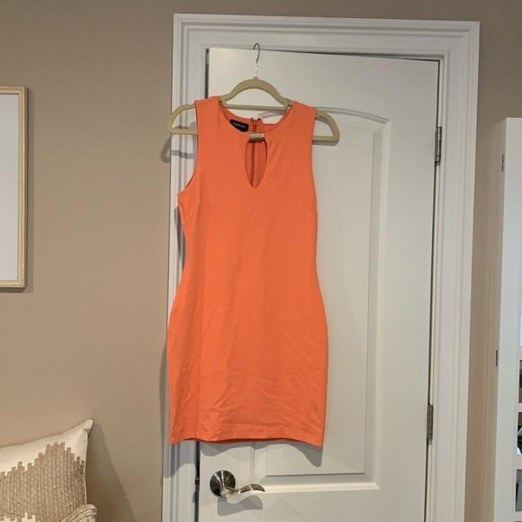 bebe Dresses & Skirts - bebe cantaloupe dress